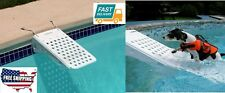 Home Outdoor Garden Swimming Pool Trampolines Pet Dog Tool Part Stair White spa