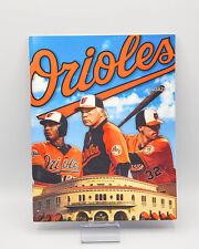 2013 Baltimore Orioles Baseball Spring Training Program Memoriam Earl Weaver