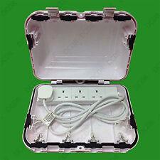 Prova di intemperie IP64 all'aperto BOX recinto per 4 Gruppo presa 13A rete di estensione