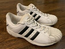 0c33a4e0997a Adidas Superstar 2G White Black Size 10 Men s Basketball Sneakers