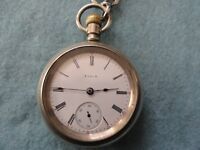 Vintage Elgin Mechanical Wind Up Vintage Pocket Watch