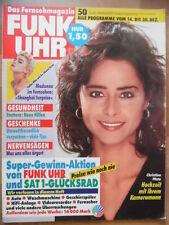 FUNK UHR 50 - 1991 ** TV: 14.-20.12. Christina Plate