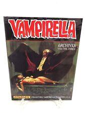 Vampirella Magazine Archives Volume 3 Collects #15-21 Dynamite Comics HC New