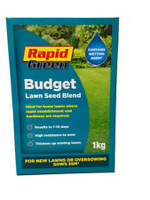 Rapid Green Budget Lawn / Grass Seed Mix Blend 1KG *