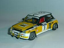 "UNIQUE 1/ 43 : R 5 Turbo  ""Terre & nuit"" - RAGNOTTI RAC RALLYE 1981 (baseIXO)"