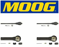 Moog 2 Inner & 2 Outer Tie Rod End Kit 2000 GMC Sierra 2500 ES3488 ES3493T