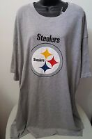 Majestic NWT Mens Multi Color Pittsburgh Steelers T Shirt Size XLT