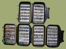 River Trout Flies, 200 Flies 3 Boxes, All Named Flies, Mixed Size, Fly Fishing