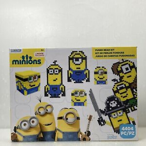 Perler Beads 80-54173 Minions Perler Activity Kit, Puzzles Jigsaw Beads 4404PC
