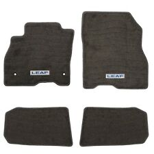 2013-2017 Nissan Leaf Gray Carpet Floor Mats 999E2-8Z101 999E28Z101 OEM New