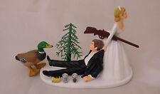 Wedding Reception Duck Fowl Bird Gun Rifle Hunter Hunting Cake Topper