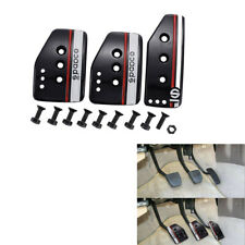 3PCS/Set Car Accelerator Pedal Foot Pedals Pad Cover For Brake Clutch Anti-skid