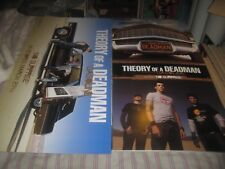 Theory Of A Deadman-Gasoline-1 Poster Flat-2 Sided-12X24 Inches-Nmint-Rare!
