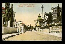 Israel TEL-AVIV Lilenblum St PPC used c1918