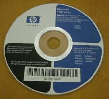 HP ScanJet 3900 series CD ONLY 3970 Scanner Software Windows XP 98 Photo Imaging