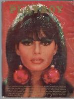 PLAYBOY December 1966-Gala Xmas, Girls Of Tahiti, Sammy Davis Jr Intrvw *354 Pgs