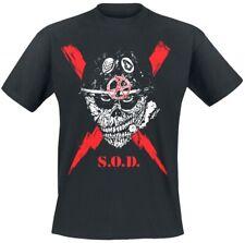 S.O.D. - Scrawled Lightning Tshirt XL