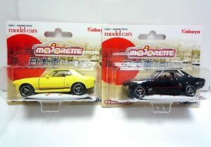 Majorette Japanese Car selection / Toyota Celica GT Coupe TA22 set / 1/56