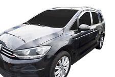 SET 4 DEFLETTORI ARIA  ANTITURBO per VW TOURAN III 5 PORTE 2015- ad oggi