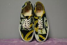 "Van's ""Off The Wall"" Skate Sneakers Green & Yellow Men's: 8.5 Women's: 10"