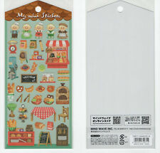 Mind Wave, My Mini Sticker, Bakery, Deli, Bread, Sticker Set, Japanese