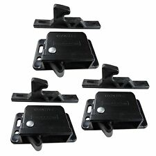 Qty 3 Southco 10 Pound Black Grabber Catch Latch for RV and Motorhome Cabinets