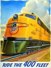 Viajes transporte tren vía ferroviaria Locomotora Motor Amarillo Sky Usa