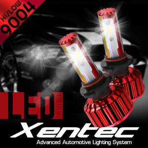 XENTEC LED HID Headlight Conversion kit 9004 HB1 6000K 1994-1998 Dodge Ram 1500