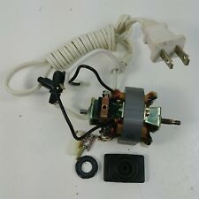 Mr. Coffee Coffee Bean Grinder Model IDS-55 Replacement OEM Motor w/ Cord