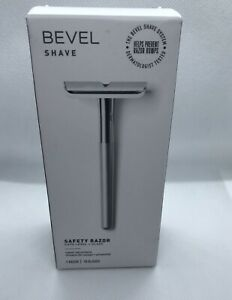 Bevel Shave System Safety Razor - Cuts Level And Close - New