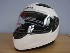 Helmet Duchinni D963 Motorcycle Helmet Gloss White Small New Boxed with Tags