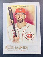 2020 Topps Allen & Ginter Baseball Nick Castellanos Cincinnati Reds 278