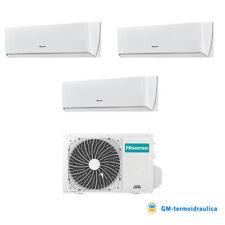 Condizionatore Hisense inverter Energy trial split 9000+9000+12000 9+9+12 70 R32