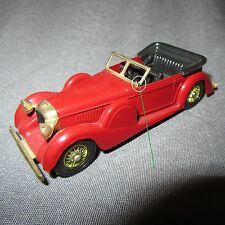 177D Matchbox Lagonda Drophead 1938 Rouge