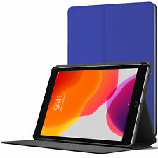 iPad 10.2 Case, Apple iPad 10.2 2019 Cover - Blue + Stylus & Screen Protector