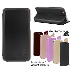 New Gorilla Tech 3D Premium Perfect Fit Magnetic Leather Wallet Book Flip Case