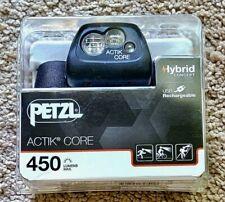 Petzl Actik Core 450 Headlamp- Black *NEW*