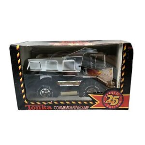 1990 TONKA Anniversary Dump Truck 25th Year Silver Edition NEW in UNOPENED BOX