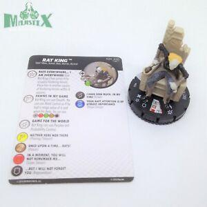 Heroclix Teenage Mutant Ninja Turtles 2 set Rat King #024 Rare figure w/card!