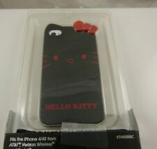 for Iphone 4 phone case Hello Kitty black red i phone 4S exclusive to Claires
