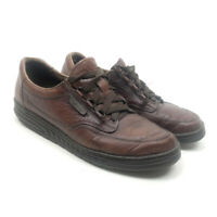 Mephisto Moc Toe Oxford Leather 6A6202613 Brown Shoes Men's Size 10