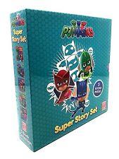 PJ Masks Super Story Set 5 Book Set Box Collection Inc Battle Of The HQ's, Feath