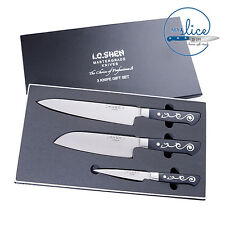 I O Shen 3 Knife Gift Set - The Choice Of Professionals