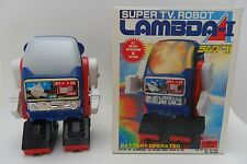 Rare Lambda I Robot Battery Operat by S.H. Horikawa Made in Japan 1970's Box