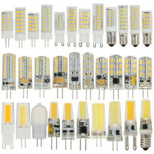 G4 G9 E14 LED Bulb 12V 220V Dimmable 2835 3014 COB Lamp Led Replace Halogen RH