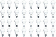 32 x Philips LED Frosted E27 Edison Screw 100w Warm White Light Bulb Lamp 1521lm