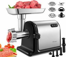 Aobosi Electric Meat Grinder �2000W Max 】Heavy Duty Stainless Steel Meat Min