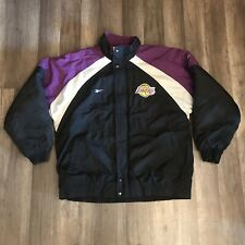 NBA Los Angeles Lakers Stitched Reebok Men's Sz M Puffer Jacket Coat
