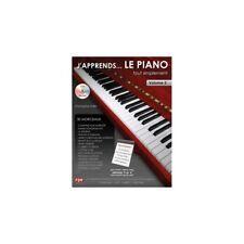 J'apprends le Piano tout simplement Piano Volume 2 (Niveau 3 & 4) Livre cd  neuf