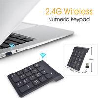 Wireless 2.4G Mini USB 18Keys Number Pad Numeric Keypad Keyboard For PC Laptops!